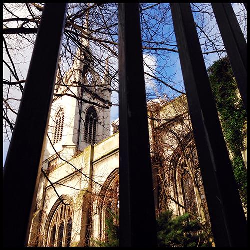 Secret Garden: Hidden London Gardens: St Dunstan-in-the-East